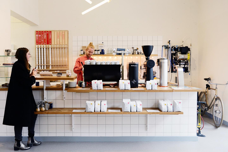 Koffie Rotterdam, Man met Bril