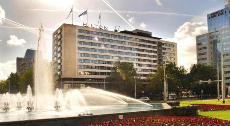 Hilton Rotterdam, Groups accommodation Rotterdam